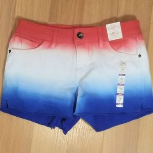 SO Girls Red, White & Blue Bomb Pop America Shorts